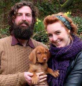Alba with Stuart & Emily