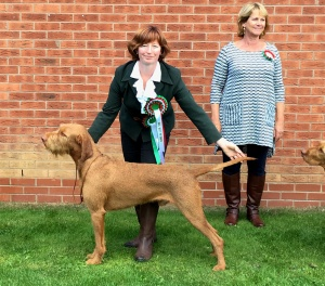 Herc & Jenny with judge Rachel Newman